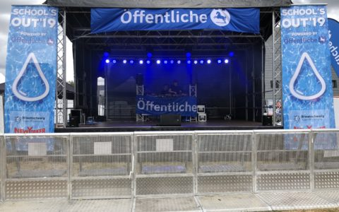 Schools Out 2019, Bürgerpark Braunschweig | Light Operating